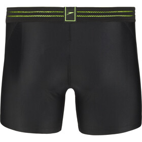 speedo Hydrosense Bonded Aquashorts Herre black/green